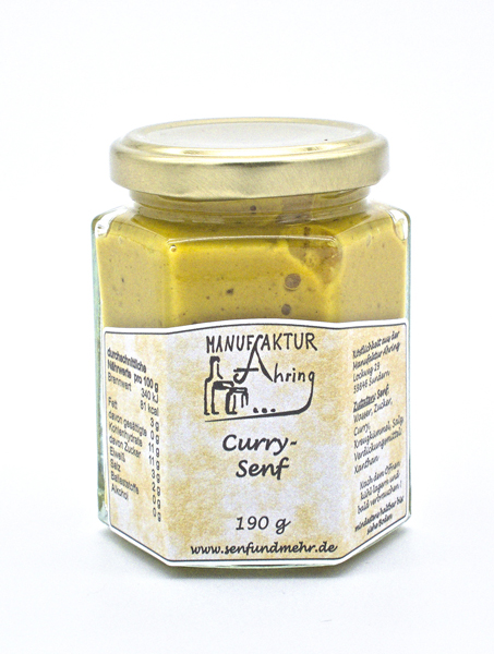 Sauerländer Senf Curry